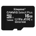 Kingston Canvas Select Plus 16 GB MicroSDHC Classe 10 UHS-I