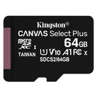 Kingston Canvas Select Plus 64 GB MicroSDXC Classe 10 UHS-I