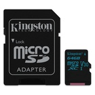 Kingston Technology Canvas Go! 64GB MicroSDXC Classe 10 UHS-I