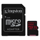 Kingston Technology Canvas React 64 GB MicroSDXC Classe 10 UHS-I