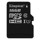 Kingston Technology Canvas Select 16 GB MicroSDHC Classe 10 UHS-I