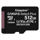 Kingston Technology Canvas Select Plus 512 GB SDXC Classe 10 UHS-I