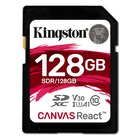 Kingston Technology SD Canvas React 128 GB SDXC Classe 10 UHS-I