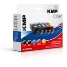 KMP C100V Multipack compatibile con Canon PGI-550/CLI-551 XL