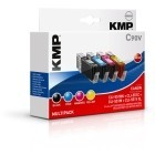 KMP C90V Promo Pack compatible with CLI-551 BK/C/M/Y