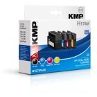 KMP H174V Multipack BK/C/M/Y comp. con HP C2P42AE 932/933 XL