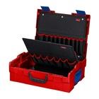 Knipex 00 21 19 LB cassetta per attrezzi Nero, Rosso ABS sintetico