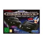 Koch Media SEGA Mega Drive Mini Nero + 2 Controller con 40 giochi inclusi