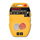 Kodak Bicycle Lights Luce lampeggiante per bicicletta Rosso, Bianco LED