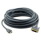 Kramer C-HM/DM-6 cavo DVI 1,82 m HDMI DVI-D Nero