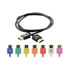 Kramer 0.6m HDMI m/m cavo HDMI 0,6 m HDMI tipo A (Standard) Nero
