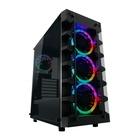 LC Power Gaming 709B - Solar_System_X Midi Tower Nero