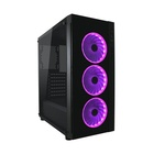 LC Power LC-Power Gaming 995B Midi-Tower Nero, Trasparente