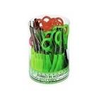 Lebez 137 forbici da cancelleria Verde, Rosso, Giallo
