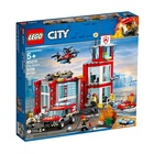 Lego Caserma dei pompieri Lego City