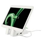 LEITZ 62280001 supporto per personal communication Tablet/UMPC Bianco Supporto attivo