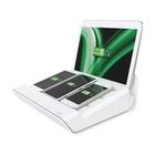 LEITZ caricabatterie multifunzione XL per 1 tablet e 3 smartphone bianco