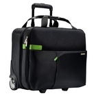 "LEITZ Smart Traveller borsa per notebook 39,6 cm (15.6"") Trolley case Black, Verde"