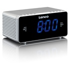 Lenco CR-520 Orologio Digitale Argento