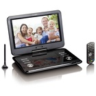 "Lenco DVP-1273 Portable DVD Convertibile 11.6"" 1280 x 720 Nero"