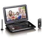 "Lenco DVP-1273 Portable DVD Convertibile 11.6"" 1280 x 720 Nero"