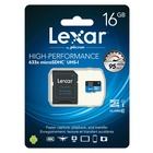 Lexar LSDMI16GBBEU633A 16 GB MicroSDHC Classe 10 UHS-I