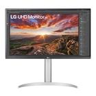 "LG 27UP850-W 27"" 4K Ultra HD LED Argento"