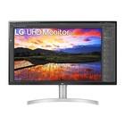 """LG 32UN650-W 31.5"""" 4K Ultra HD Curvo Bianco"""