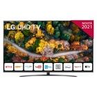 "LG 50UP78006LB 50"" 4K Ultra HD Smart TV NOVITÀ 2021 Wi-Fi Processore Quad Core 4K AI Sound"