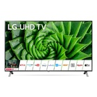 "LG 55UN80006LA.API TV 55"" 4K Ultra HD Smart TV Wi-Fi Nero, Acciaio inossidabile"