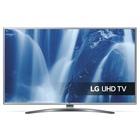 "LG UM7610PLB 65"" 4K Ultra HD Smart TV Wi-Fi Nero, Argento"