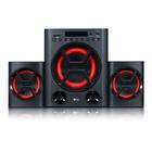LG XBOOM set di altoparlanti 2.1 canali 40 W Nero, Rosso
