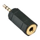 LINDY 35622 cavo di interfaccia e adattatore 2.5mm 3.5mm Nero
