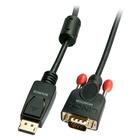 LINDY 41940 cavo di interfaccia e adattatore DisplayPort VGA Nero