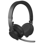 Logitech MSFT Teams Zone Wireless Cuffia Bluetooth Grafite