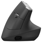 Logitech MX Vertical Advanced Ergonimic mouse Wireless a RF + Bluetooth 4000 DPI Mano destra Nero