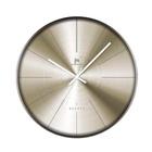 Lowell Justaminute 00841G Orologio da parete in quarzo Cerchio Oro