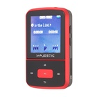 MAJESTIC BT-3284R MP3 Lettore MP3 Nero, Rosso