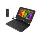 """MAJESTIC DVX-262D Portable DVD player Da tavolo Nero 9"""" Confezione aperta"""