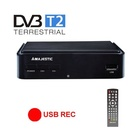 MAJESTIC New Majestic DEC-664 HD USB REC set-top box TV Terrestre Nero