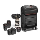 Manfrotto Pro Light Reloader Spin-55 Custodia trolley Nero, Rosso