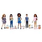 Mattel Barbie Babysitter, Skipper e i suoi Amici con Telefonino e Biberon, Assortimento, FHY89