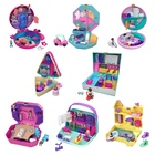 Mattel Games Polly Pocket Playset Mondo Tascabile a tema con sorprese da rivelare, Assortimento, FRY35