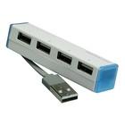 MEDIACOM M-HX25 hub di interfaccia USB 2.0 Bianco