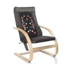 Medisana RC 410 sedia massaggiante elettrica Nero, Marrone
