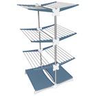 MELICONI Stendimeglio Junior Stendibiancheria Alluminio, Blu