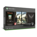 Microsoft Xbox One X + Tom Clancy's The Division 2 Nero 1000 GB Wi-Fi