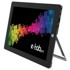 "Microtech E-tab Pro 10.1"" Celeron 128 GB Wi-Fi Nero"