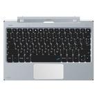 Microtech EKS101PR tastiera per dispositivo mobile QWERTY Italiano Metallico