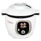Moulinex Cookeo + CE851A Multicooker 150 Ricette ottura Automatica Capacità 6 Litri 1600 W Bianco Cromato